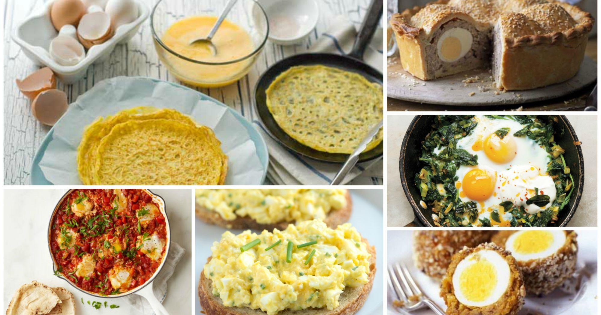 50 maneras de cocinar huevos for Formas de cocinar huevo