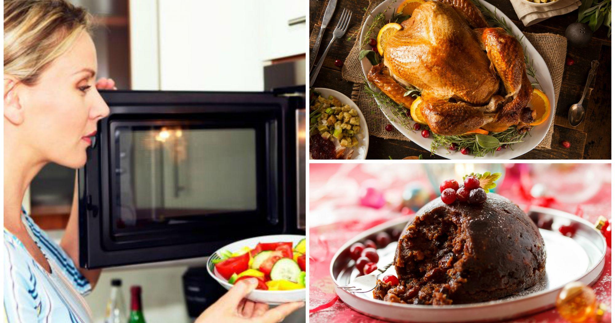 C mo cocinar tu cena de navidad en el microondas - Cocinar en el microondas ...