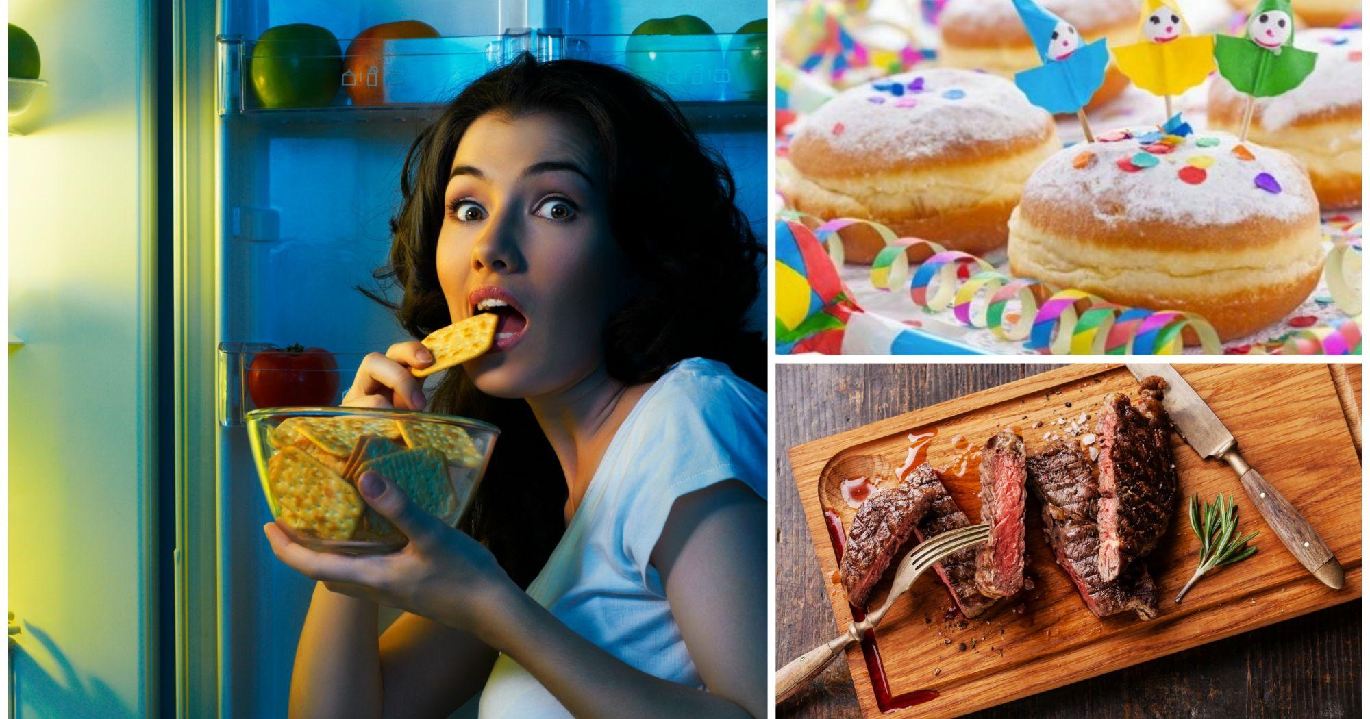 20 alimentos que no se pueden comer por la noche - Alimentos que no engordan por la noche ...