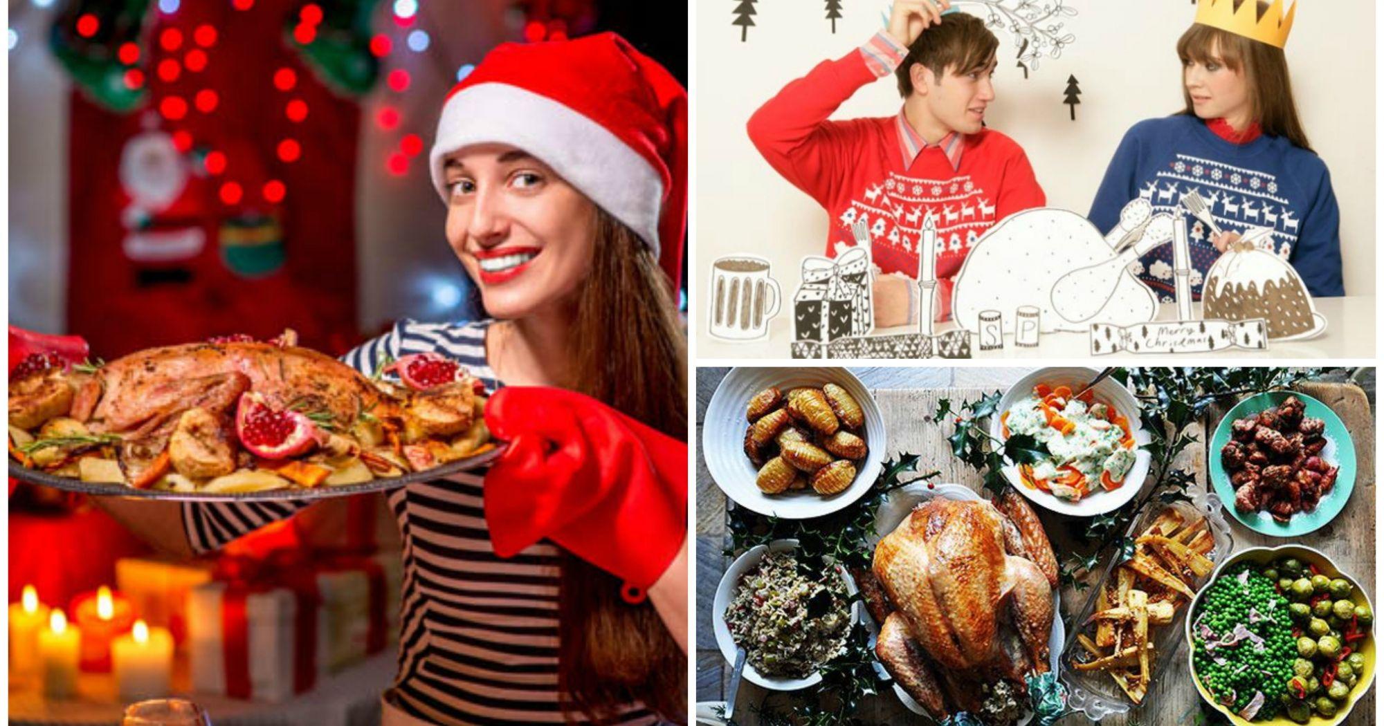 15 deliciosas ideas para los que no quieren cocinar en navidad