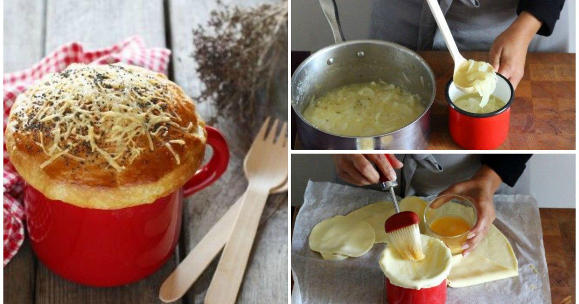 Cena como en un bistrot parisino sopa de cebolla al for Cena en frances