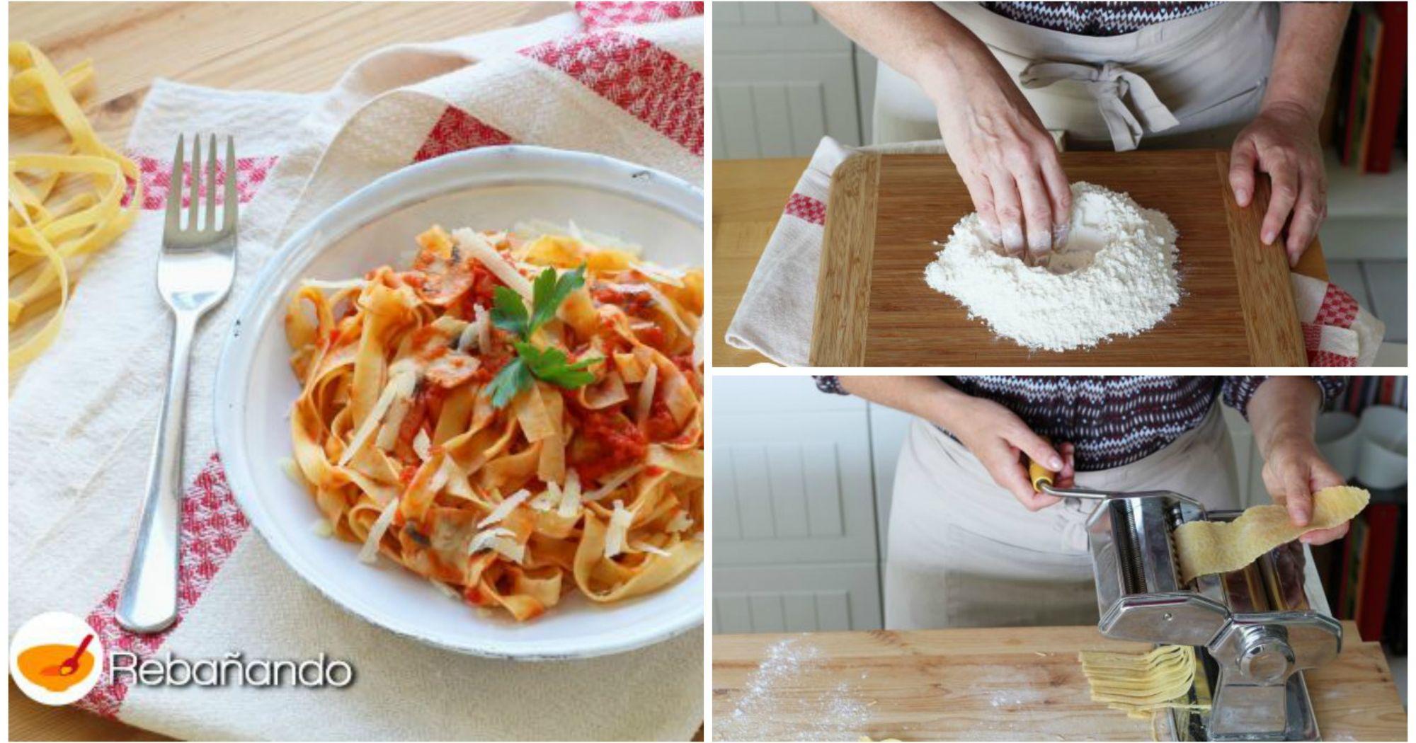 Eres un amante de la pasta aprende a hacer tagliatelle - Hacer pasta en casa ...