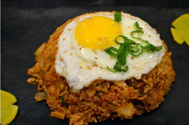 receta para hacer arroz coreano