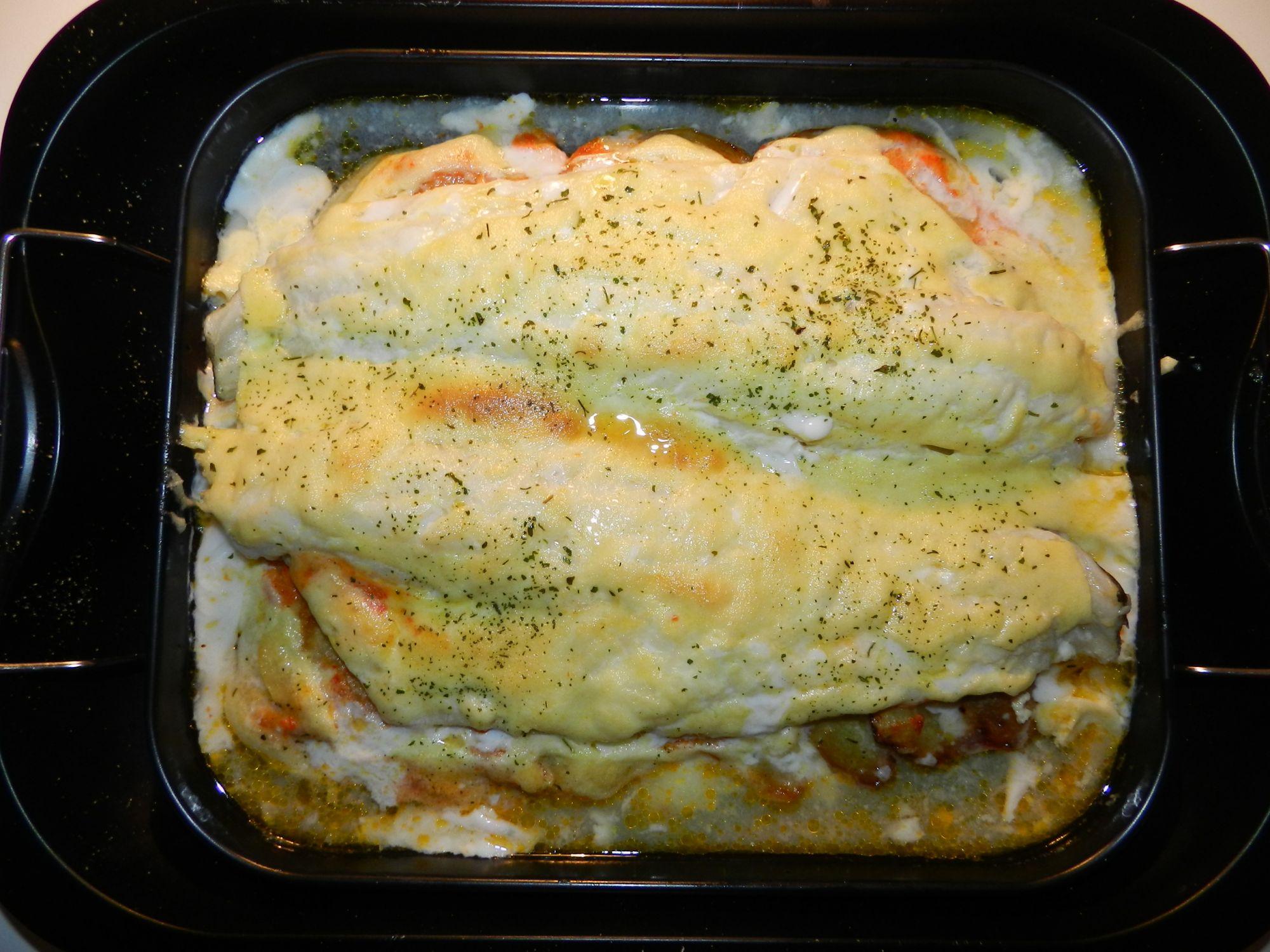 Bacalao Al Horno Con Mayonesa Al Ajo 4 7 5