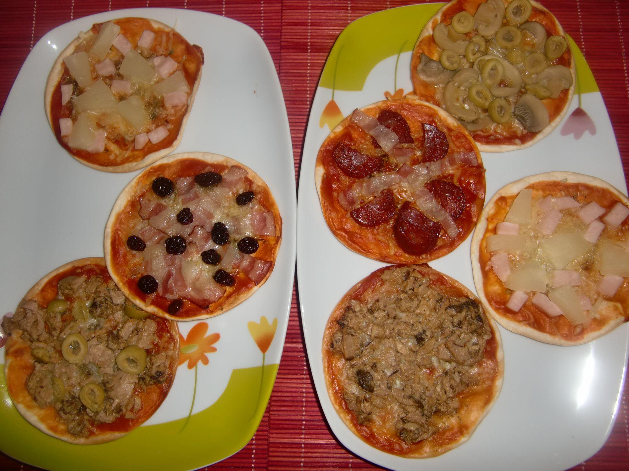 Minipizzas De Oblea De Empanadilla 3 8 5