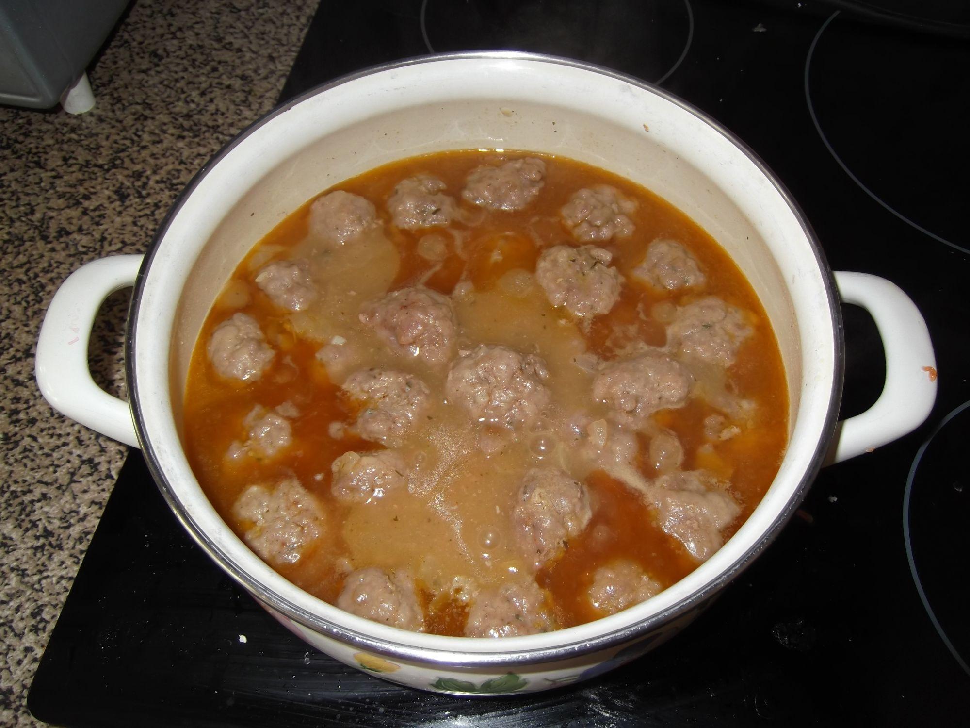 Alb ndigas de carne tradicionales - Albondigas tradicionales ...