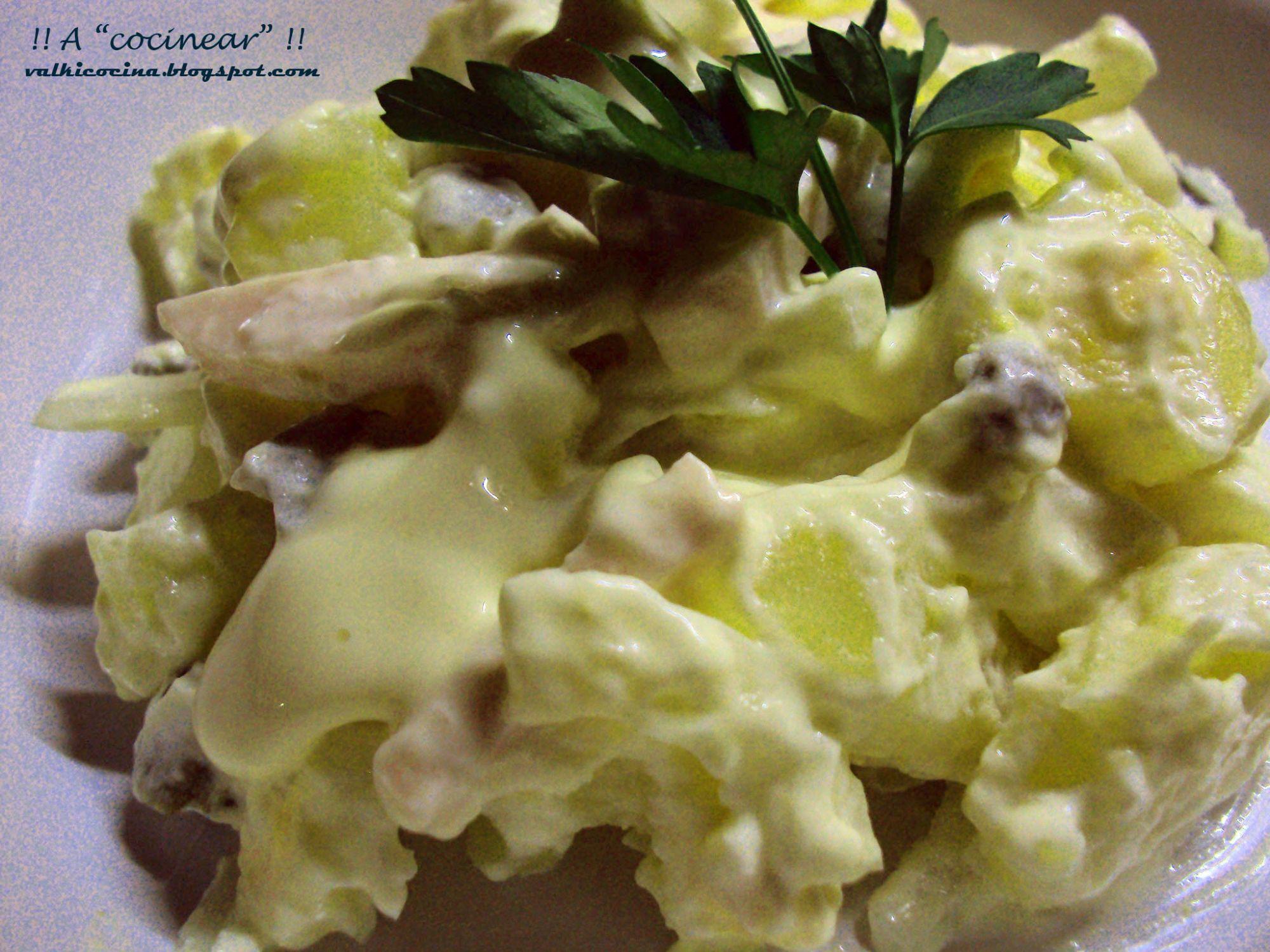 Ensalada alemana de patatas y jam n york 3 9 5 - Ensalada alemana de patatas ...