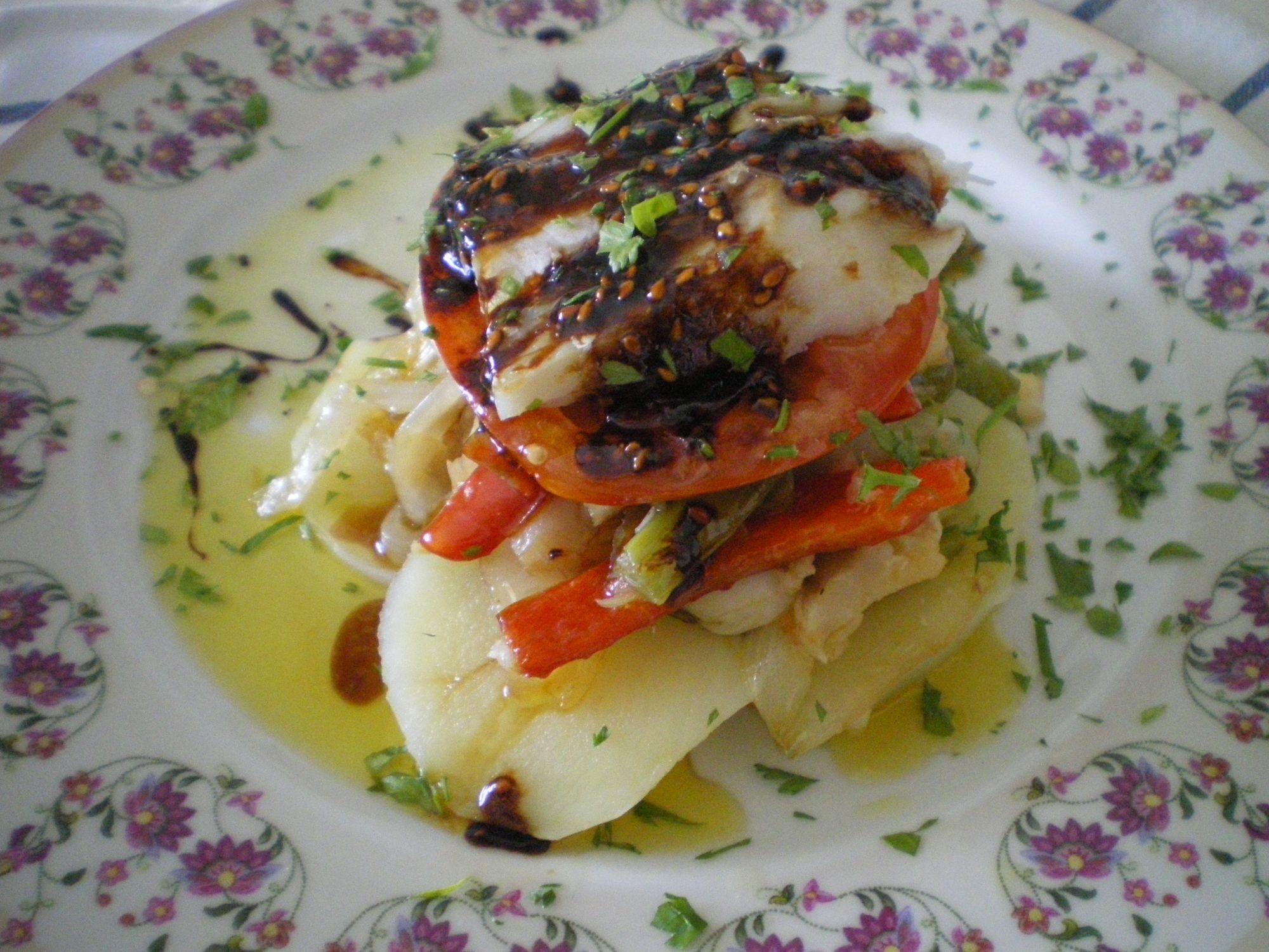Recetas de ensalada de bacalao - Aperitivos con bacalao ...