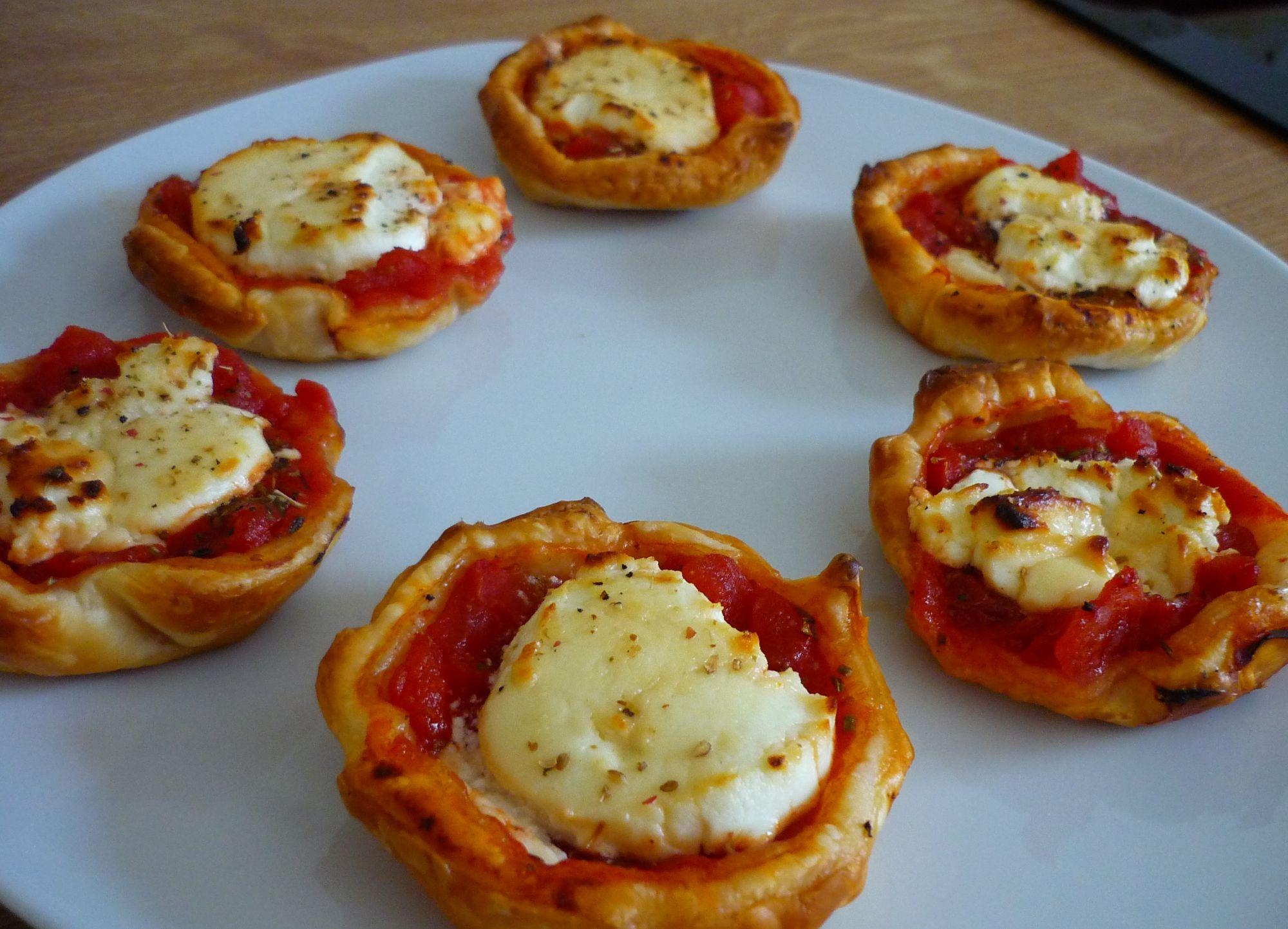 Tartaletas de tomate y queso de cabra 4 5 5 - Queso de cabra y colesterol ...