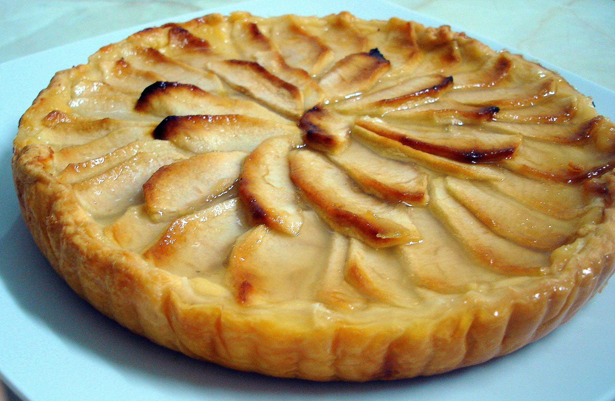 Tarta de manzanas y miel 3 5 - Pure de castanas y manzana ...