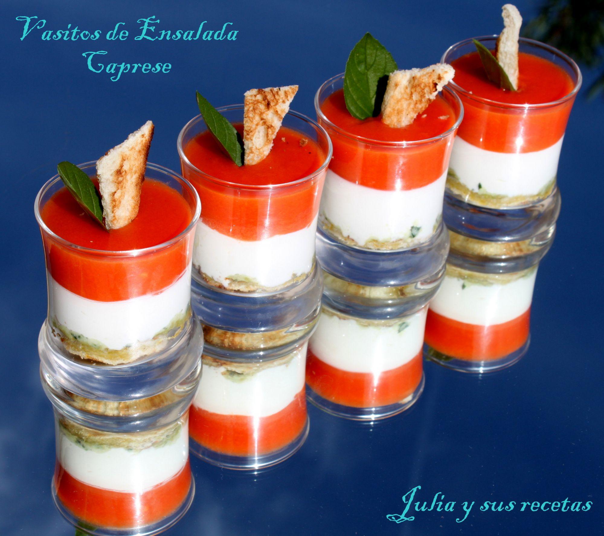 Recetas de aperitivos en vasitos thermomix