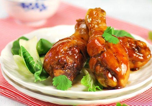 Pollo caramelizado