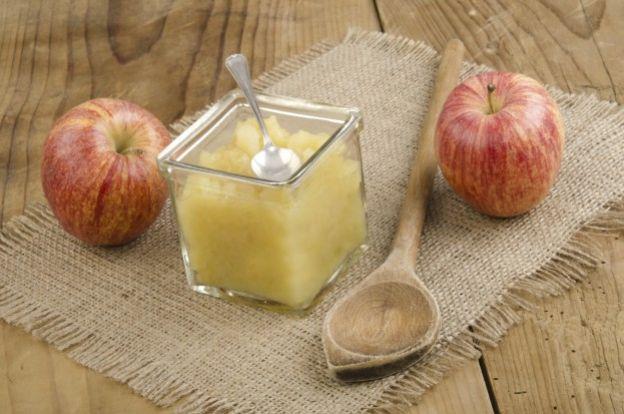 4. Compota de manzana