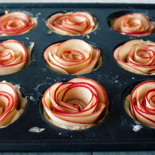 Tartas en forma de flor