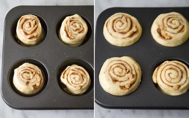 Cinnamon rolls idénticos