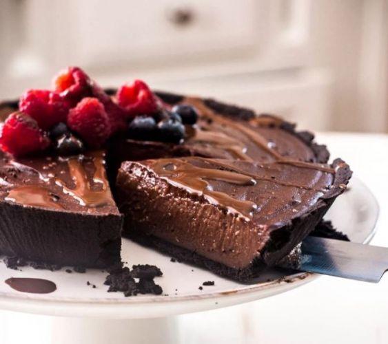 Esta Tarta De Doble Chocolate Sin Horno Es Tan Fácil Que No