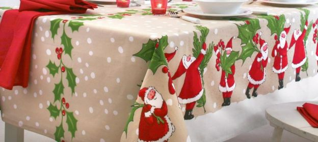 ideas para manteles de mesa 8 Ideas Para Decorar La Mesa Estas Navidades