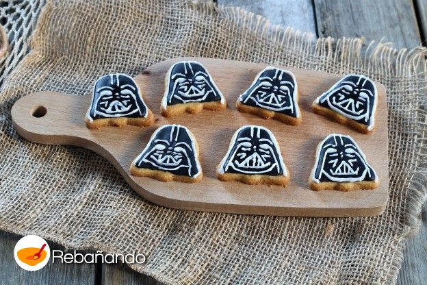 Galletas de Darth Vader