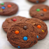 Cookies de chocolate y M&M's