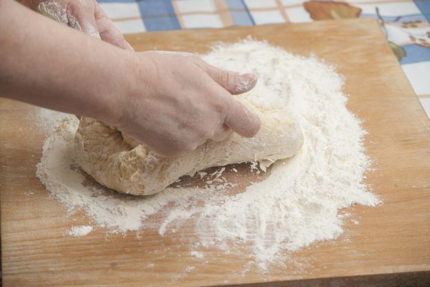 Preparación de los panes