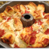 35. Pull apart pizza bread