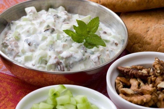 Salsa griega de pepino y yogur