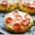 15. Mini pizza de coliflor