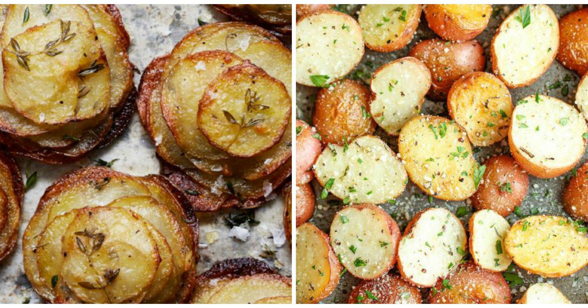Como preparar patatas al horno - Patatas pequenas al horno ...