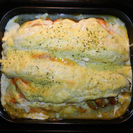 Bacalao al horno con mayonesa al ajo 4 8 5 for Como cocinar bacalao al horno