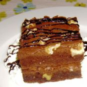 Brownie de chocolate con nueces - Paso 1