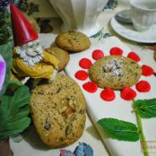 Cookies de menta y chocolate