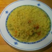 Arroz con curry sencillo