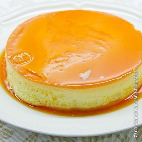 Flan Rápido De Naranja 4 1 5