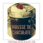 Mousse de chocolate con coñac