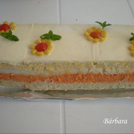 Pastel de pan de molde 415