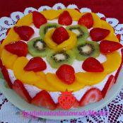 Tarta De Frutas Para El Cumple De Alonso 4 1 5