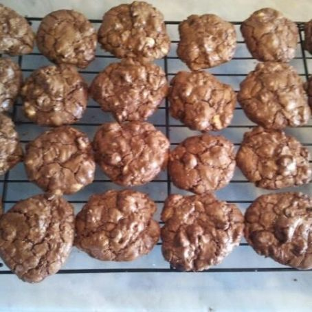 Cookies de chocolate al cubo