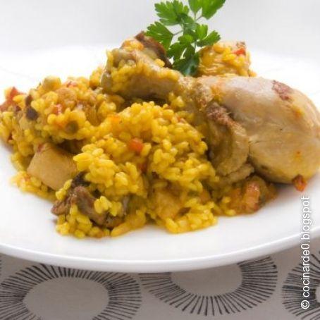 Recetas de pollo con arroz