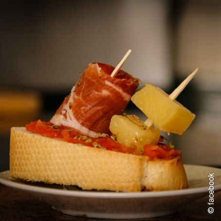 Tapa Made in spain