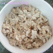 Coxinhas de pollo y queso con salsa agridulce de mostaza y miel - Paso 3