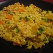Arroz amarillo de mar