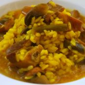 Arroz meloso con costillas