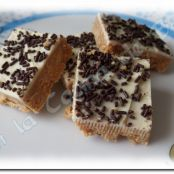 Barritas de chocolate blanco