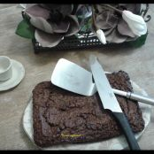Brownie con nueces y sin lactosa