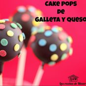 Cake pops de galleta y queso