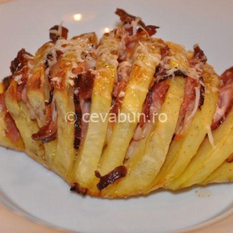 Patatas suecas con tocino 4 2 5 for Cocinar patatas al horno