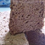 Angel food cake de chocolate thermomix