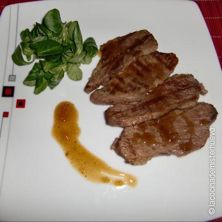 Cocinar Presa Iberica | Presa Iberica Con Salsa De Sidra Miel Y Mostaza 4 5