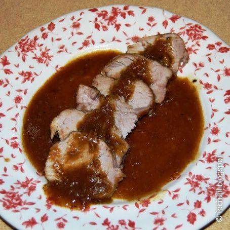 Solomillo De Cerdo Con Salsa De Coca Cola Y Sopa De Cebolla 395