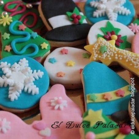Imagenes De Galletas De Navidad Decoradas.Galletas Navidenas Decoradas Con Fondant 1 5